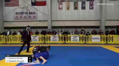 Yasim Coutinho Ponheiro vs Emily Elizabeth Fernandez 2020 American National IBJJF Jiu-Jitsu Championship