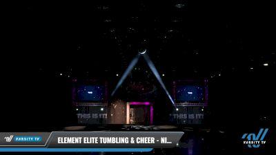 Element Elite Tumbling & Cheer - NITRO [2021 L2 Youth - Medium Day 2] 2021 The U.S. Finals: Louisville