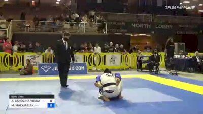 ANA CAROLINA VIEIRA SROUR vs MARIA MALYJASIAK 2021 Pan Jiu-Jitsu IBJJF Championship
