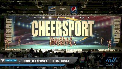 Carolina Spirit Athletics - Great Whites [2021 L3 Senior - D2 Day 1] 2021 CHEERSPORT: Charlotte Grand Championship