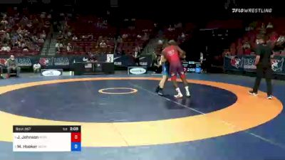 72 kg 3rd Place - Jamel Johnson, Marines vs Michael Hooker, Army (WCAP)
