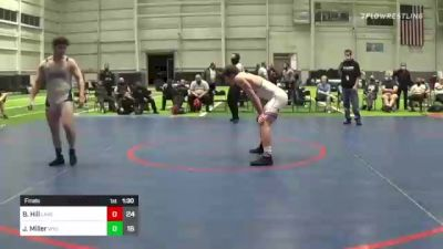 220 lbs Final - Bradley Hill, Lake Highland Prep vs Jeff Miller, Wyoming Seminary