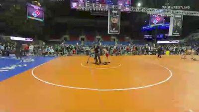 106 lbs Consi Of 8 #1 - Brandon Morvari, Minnesota vs Adrian Samano, Virginia