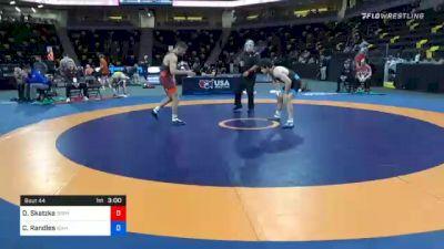 79 kg Prelims - Devin Skatzka, Gopher Wrestling Club - RTC vs Casey Randles, Idaho