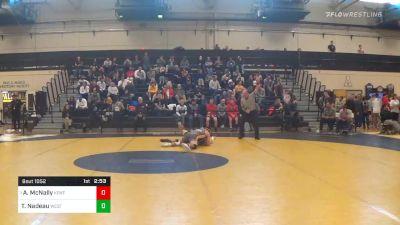 Quarterfinal - Andrew McNally, Kent State vs Tucker Nadeau, West Virginia