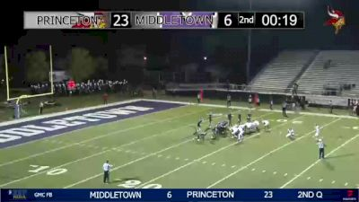 Replay: Middletown vs Princeton | Oct 1 @ 7 PM