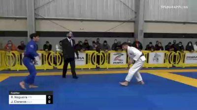 Richar Nogueira vs Joshua Cisneros 2020 American National IBJJF Jiu-Jitsu Championship