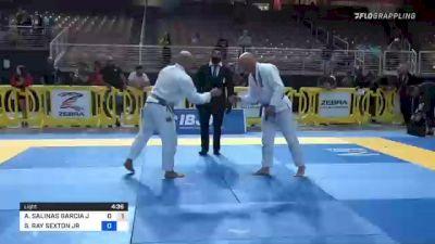 ALFONSO SALINAS GARCIA JR. vs SIDNEY RAY SEXTON JR 2021 Pan Jiu-Jitsu IBJJF Championship