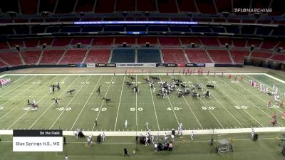 Blue Springs H.S., MO at 2019 BOA St. Louis Super Regional Championship, pres. by Yamaha