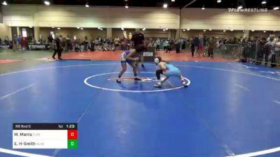 101 lbs Prelims - Mary Manis, Florida vs Evelyn Holmes-Smith, Alabama
