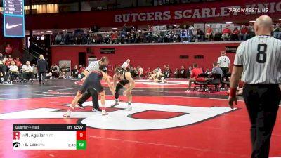 133 lbs Quarterfinal - Ridge Lovett, Nebraska vs Austin DeSanto, Iowa
