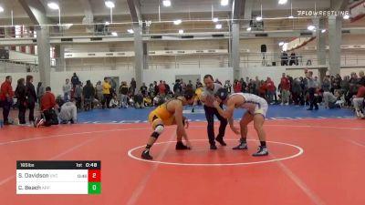 Semifinal - Paul Carson, Appalachian State vs Matthew Rudy, Limestone