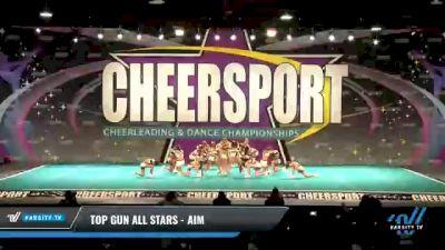 Top Gun All Stars - Aim [2021 L1 Junior - Medium Day 2] 2021 CHEERSPORT National Cheerleading Championship