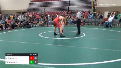 Prelims - Koy Hopke, Dynasty Deathrow (NJ) vs Max Shulaw, California Gold