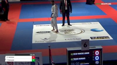 Celso Venicius Junior vs Thiago Marques Abu Dhabi King of Mats 2018   Grappling