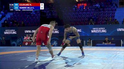 70 kg Repechage #3 - Nicolae Cojocaru, Great Britian vs Carlos Romero Millaqueo, Chile