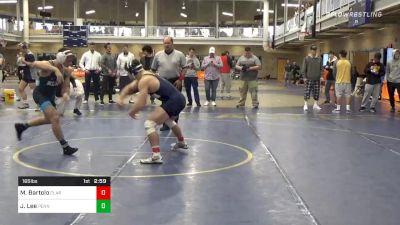Final - Michael Bartolo, Clarion vs Joe Lee, Penn State Unattached