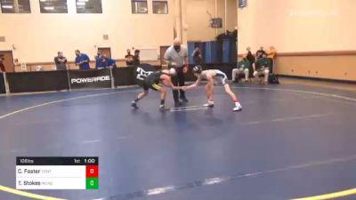 106 lbs Consolation - Clayton Foster, Central Mountain vs Tyler Stokes, Meadowbrook Christian