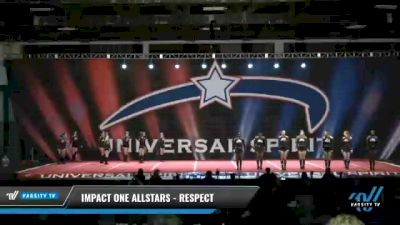 IMPACT ONE Allstars - RESPECT [2021 L4.2 Senior Day 1] 2021 Universal Spirit-The Grand Championship