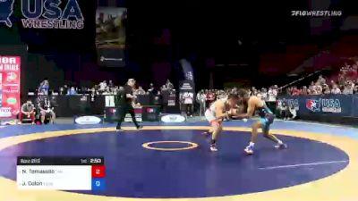 61 kg Semis - Nathan Tomasello, Titan Mercury Wrestling Club vs Joe Colon, Titan Mercury Wrestling Club