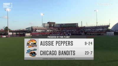 Full Replay - 2019 Aussie Peppers vs Chicago Bandits | NPF - Aussie Peppers vs Chicago Bandits | NPF - Jul 19, 2019 at 7:26 PM CDT