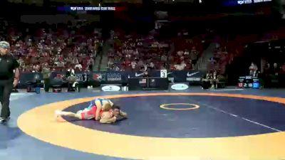 60 kg Round 1 - Ildar Hafizov, Army (WCAP) vs Dalton Roberts, Army (WCAP)