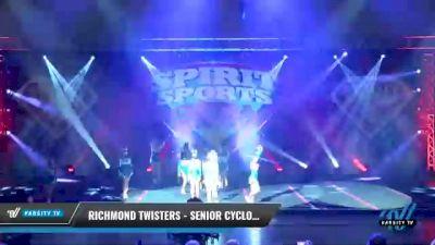 Richmond Twisters - Senior Cyclones [2021 L4.2 Senior - D2 - Small Day 1] 2021 Spirit Sports: Battle at the Beach