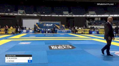 RICHARD ALARCON vs JOÃO MIYAO 2019 World IBJJF Jiu-Jitsu No-Gi Championship