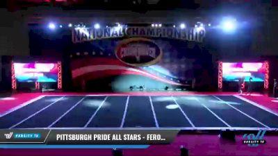 Pittsburgh Pride All Stars - Ferocious [2021 L2 Youth - Medium Day 2] 2021 ACP: Midwest World Bid National Championship