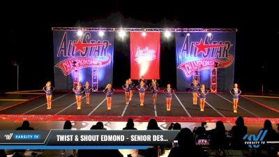 Twist & Shout Edmond - Senior Desire [2021 L4.2 Senior - Small Day 2] 2021 ASCS: Tournament of Champions & All Star Prep Nationals