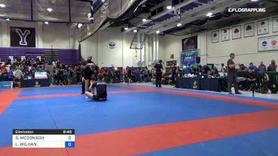 SEAN MCDONAGH vs LUCAS WILHAN 2019 Pan IBJJF Jiu-Jitsu No-Gi Championship