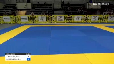 JOHN MCCOWEN vs DUSTIN SHELHAMER 2021 Pan IBJJF Jiu-Jitsu No-Gi Championship