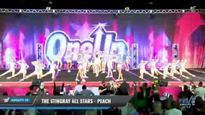 The Stingray Allstars - Marietta - Peach [2021 L6 Senior - Medium Day 1] 2021 One Up National Championship