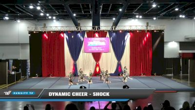 Dynamic Cheer - Shock [2021 L1.1 Youth - PREP - Small - A Day 1] 2021 The American Spectacular DI & DII