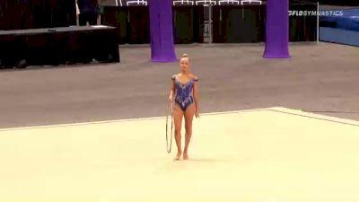 Victoria Kobelev - Hoop, STLE - 2021 USA Gymnastics Championships