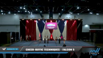 Cheer-riffic Techniques - Falcon 5 [2021 L5 Senior Coed - D2 Day 2] 2021 The American Spectacular DI & DII