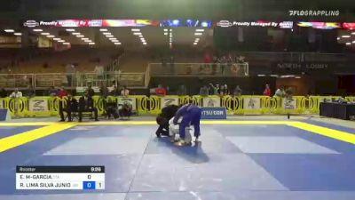 ESTEVAN G MARTINEZ-GARCIA vs ROITER LIMA SILVA JUNIOR 2021 Pan Jiu-Jitsu IBJJF Championship