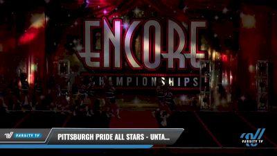 Pittsburgh Pride All Stars - Untamed [2021 L2 Junior Day 2] 2021 Encore Championships: Pittsburgh Area DI & DII