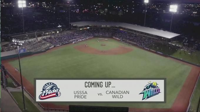 Game 2: USSSA Pride vs Canadian Wild