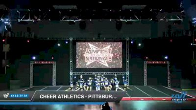 Cheer Athletics - Pittsburgh - CobaltCats [2021 L6 International Open Coed - NT Day 2] 2021 JAMfest Cheer Super Nationals
