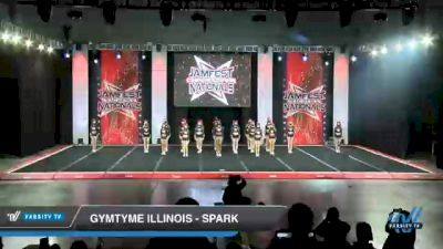 GymTyme Illinois - Spark [2021 L4.2 Senior Day 1] 2021 JAMfest Cheer Super Nationals