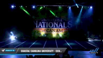 Coastal Carolina University - CCU - Sunday [2021 L7 Exhibition (Cheer) Day 2] 2021 Cheer Ltd Nationals at CANAM