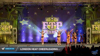 London Heat Cheerleading - 5 Alarm [2019 Senior 5 Day 2] 2019 Feel The Power East