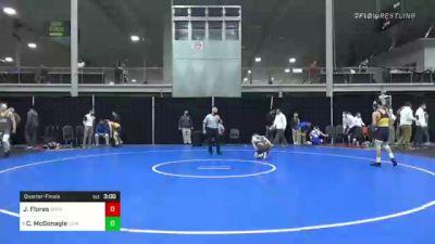 141 lbs Quarterfinal - Julian Flores, Drexel vs Connor McGonagle, Lehigh