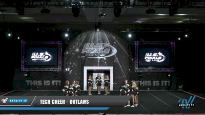 Tech Cheer - Outlaws [2021 L3 - U17 Day 1] 2021 The U.S. Finals: Grapevine