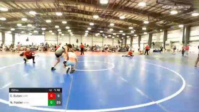 152 lbs Prelims - Connor Euton, Ohio Beach Boys vs Nick Foster, Dark Knights Wrestling Club