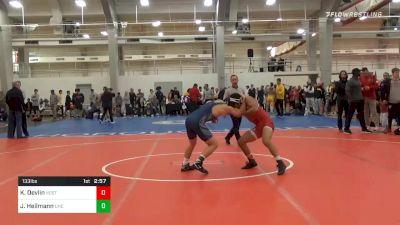 Quarterfinal - Kellen Devlin, NC State vs Joe Heilmann, UNC Unattached