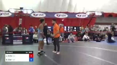 68 kg Rr Rnd 2 - Justin Avila, Iowa vs Bas Diaz, Florida