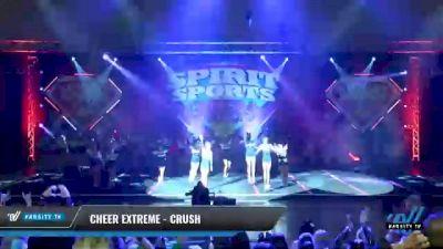 Cheer Extreme - Kernersville - Crush [2021 L6 Junior Day 1] 2021 Spirit Sports: Battle at the Beach