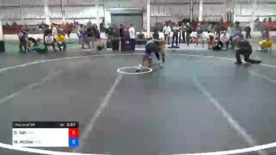 61 kg Prelims - David Yeh, Massachusetts vs Michael McGee, Sunkist Kids Wrestling Club